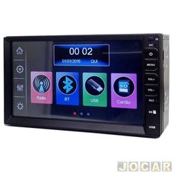 "Central multimídia - Tay Tech - MP5 - Tela 6,5"" - SD/Bluetooth - universal - cada (unidade) - 006010"