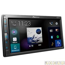 Central multimídia - Pioneer - 6.8 Touchscreen Resistiva - cada (unidade) - AVH-Z5280TV