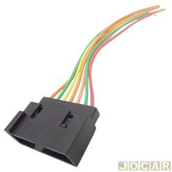 Conector adaptador para rádio - para ford antigo - com 16 vias - cada (unidade)