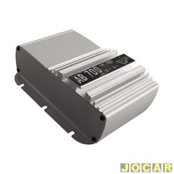 Amplificador de pot�ncia - Boog - AB-700 J�nior - est�reo do tipo Booster - cada (unidade) - AB-700_JUNIOR
