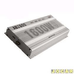 Amplificador de pot�ncia - Boog - est�reo tipo Booster - 2x400W a 1ohm - cada (unidade) - AB-2800
