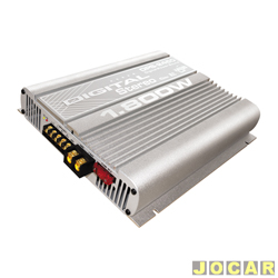 Amplificador de pot�ncia - Boog - DPS-2450 - digital est�reo tipo Mosfet - cada (unidade) - DPS-2450