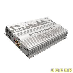 Amplificador de pot�ncia - Boog - AB-3300H - de 3 canais do tipo Hybrid - cada (unidade) - AB-3300H