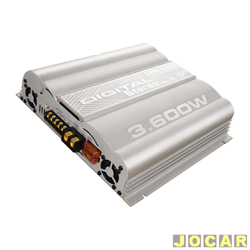 Amplificador de pot�ncia - Boog - DPS-2900 - digital est�reo tipo Mosfet - cada (unidade) - DPS-2900