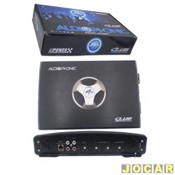 Amplificador de pot�ncia - Audiophonic - Club - mono classe D - 1200W RMS - 2 Ohms - preto - cada (unidade) - club 12000
