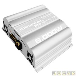 Amplificador de pot�ncia - Boog - digital - multicanal do tipo mosfet - 6.000W PMPO - cada (unidade) - DPS-21K5