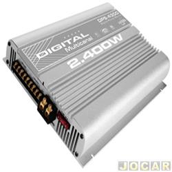 Amplificador de pot�ncia - Boog - Mosfet - 4 x 300W (RMS) a 2 Ohms - cada (unidade) - DPS-4300