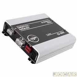 Amplificador de pot�ncia - Boog - D-2K - Digital 1 canais 2000W RMS - prata - cada (unidade) - D-2K