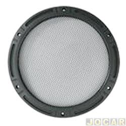 Tela do alto-falante - Pek - redondo 6 - modelo Arlem - cada (unidade)