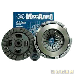 Kit de embreagem - diam:228 - est:26 - Mercedes Benz C230 1993 at� 2000  - cada (unidade)