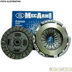 Kit de embreagem - Mecarm - March/Versa 2011 até 2014 - com disco e platô - cada (unidade) - 27547