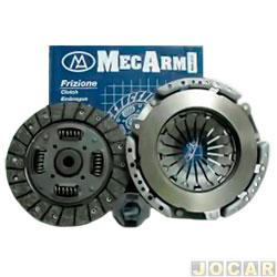 Kit de embreagem - Mecarm - Jac J3 1.4 16v flex 2010 em diante - cada (unidade) - 27733