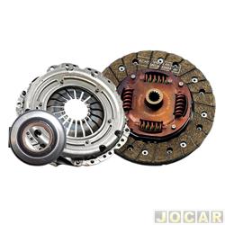Kit de embreagem - Sachs - Astra 1999 até 2003-Vectra 2000 em diante-Cobalt 2011 em dia - jogo - 6653