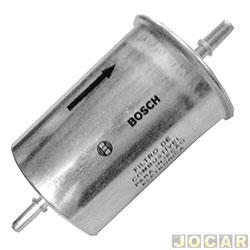 Filtro de combustível - Bosch - Bora/Golf 1.6 1.8 2.0 1997 até 2008 - Audi A3 1.6 1.8  - cada (unidade) - 0986450236