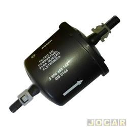 Filtro de combustível - Bosch - Fiesta/Ka/Courier/Escort/F250/F1000 - Astra 2.0 flex 1.8 01/ - Vectra 2.0 2.4 2005/ - Zafira 2.0 2004/ - - cada (unidade) - 0986BF0026