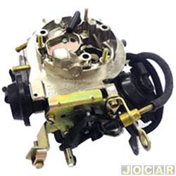 Carburador - Brosol - Caravan/Opala 4100 1987 até 1992 -  3E - alcool - cada (unidade) - 176561