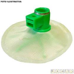 Pré filtro (filtro bomba de combustível) - Bosch - Kadett/Ipanema 2.0 mpfi 96/98 - Omega 92/98 -Silverado 4.1  - Grand Blazer 4.1 96/01 - cada (unidade) - F000TE9004