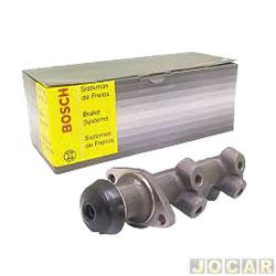 Cilindro mestre do freio - Bosch - Opala/Caravan 1980 até 1990 7/8 polegada com adaptador - cada (unidade) - CM-2124-0204032284