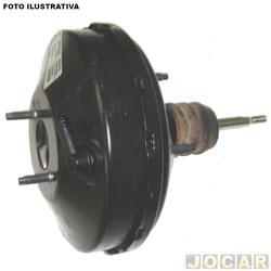 Servo do freio (hidrovácuo) - Bosch - Chevette - 1986 em diante - cada (unidade) - SF3842-0204032206