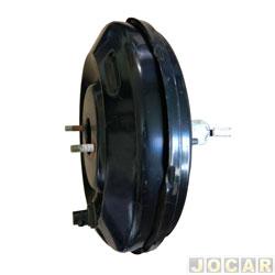 Servo do freio (hidrovácuo) - Bosch - A10/D10/A20/D20 89/92 - Bonanza 4.1 89/92 - Veraneio 89/92 - 270mm com suporte - cada (unidade) - SF5041S-0204032344