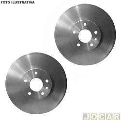 Tambor de freio - L200 2008 até 2016 - traseiro - par
