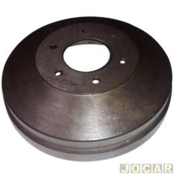 Tambor de freio - Varga - C10/D20 1985 em diante/S10/Blazer 1998 em diante - sem cubo - para 5 furos - 322,5mm - traseiro - cada (unidade) - RPTA00170