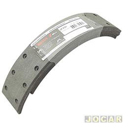 Lona de freio - Bosch - A10/C10/D10 Até 1985 - Bonanza 94/97 - Veraneio 65/78 - sistema Bendix - cada (unidade) - LF-121