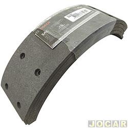Lona de freio - Bosch - Bandeirante Jipe 1994 até 2001/Kombi/pick-up 1976 até 1997 - traseiro - cada (unidade) - LF-144-0986BB1065