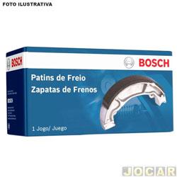 Sapata de freio - Bosch - Ducato 1997 até 2005/Jumper 2002 em diante -  (Girling) - traseiro - jogo - LS-3522-0986BB3522