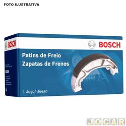 Sapata de freio - Bosch - Besta 2.7 Diesel 1993 até 2003 - traseiro - jogo - LS-3527-0986BB3527