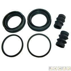 Reparo parcial da pinça - Bosch - D20/Veraneio 1992 até 1996 - dianteiro - cada (unidade) - RD4128-0204062078