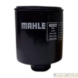 Filtro de óleo - Metal Leve - Fox/Bora/Polo/Golf 2003 até 2009 - Gol 1.0 MI 1997 até 2008 - Gol/Passat/Parati/Voyage/Saveiro/Apollo 1985 até 1995  - cada (unidade) - OC522