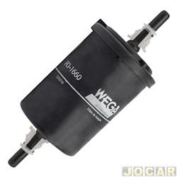 Filtro de combustível - Wega filtros - Agile/Celta/Corsa/Meriva 1.4 8V Flex Power - cada (unidade) - FCI1660