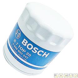 Filtro de �leo - Bosch - Palio/Siena/Weekend/Strada/Fiorino/Marea/Doblo/Brava/Tipo - (exceto fire) 206/306/307 - Berlingo/Xsara - cada (unidade) - 0986B00042