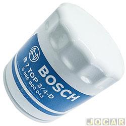 Filtro de �leo - Bosch - Gol/Fox/Golf/Kombi/Logus/Parati/Apolo/Bora/Passat/Pointer - Spacefox/Crossfox/Troller RF 2.0/Seat Cordoba Ibiza  - cada (unidade) - 0986B00043
