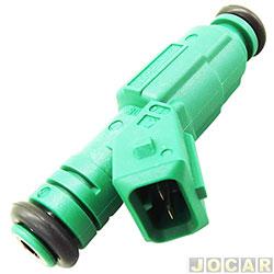 Bico injetor - Bosch - Astra/Zafira 2.0 16v sfi 1999 até 2005 - verde - cada (unidade) - 0280155930