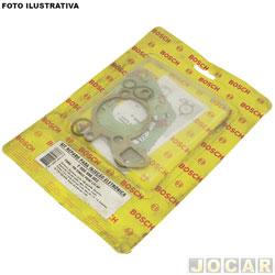 Kit injeção eletrônica - Bosch - Gol/Santana 1.6 1.8 1994 até 1996 - jogo - F00099K003
