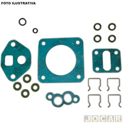 Kit injeção eletrônica - Bosch - Astra/Vectra 94/96 - Kadett GSI 92/95 - Monza classic 90/93 - jogo - F00099K018