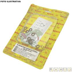Kit injeção eletrônica - Bosch - Palio/Siena/Strada/Weekend 1996 até 2002 - jogo - F00099K024