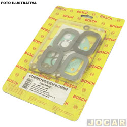 Kit injeção eletrônica - Bosch - Palio/Siena/Strada/Weekend 16v 1996 até 2002 - jogo - F00099K025