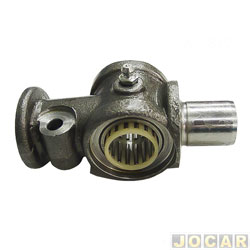 Pino da manga de eixo - IMA - Kombi 1500 1600 1967 até 2006 - inferior sem rolamento - cada (unidade) - AL-821