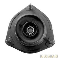Coxim do amortecedor - Jahu - J3 2010 até 2016 - com rolamento para um lado da roda - qualidade original - dianteiro - jogo - 48415-5