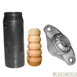 Kit do amortecedor traseiro - Jahu - Linea/Punto/Idea 2007 até 2017 - Grand Siena 2012 em diante - completo para um lado - jogo - 64207-4
