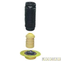 Kit do amortecedor traseiro - RC Borrachas - Tempra 8v 1992 até 1999 - completo - cada (unidade) - 415-ST