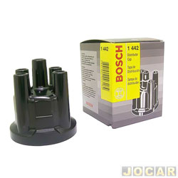 Tampa do distribuidor - Bosch - Gol - At� 1984 - Uno -1985 - cada (unidade) - 1235.522.259
