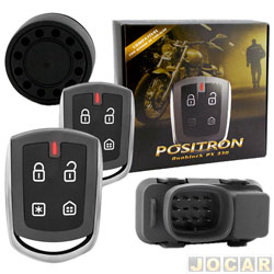 Alarme para motos - P�sitron - DuoBlock Px G7 - universal - cada (unidade) - 012584000