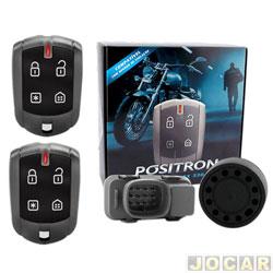 Alarme para motos - Pósitron - DuoBlock dedicado G7 - Titan150/125 - 2014 em diante - cada (unidade) - 012650000