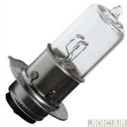 L�mpada do farol - Lampa - M5 - 35/35W 12V - para motos - cada (unidade) - B-B0055S