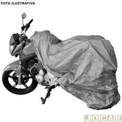 Capa para motos - Bezi - térmica impermeável - pequena - cada (unidade) - 92411