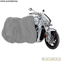 Capa para motos - Bezi - impermeável - Grande - cada (unidade) - 92412